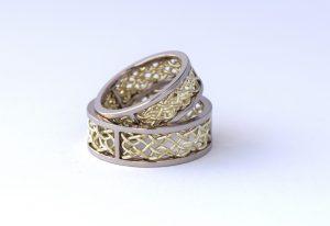 relatieringen trouwringen gevlochten infinity knoop handgemaakt teuns design goudsmid wijchen