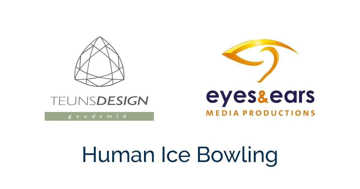 Human Ice Bowling: wij zijn trotse sponsor en organisator!